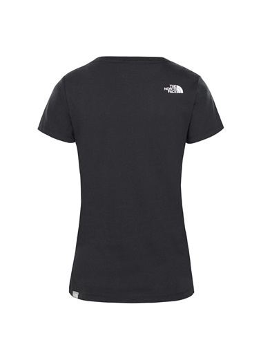 The North Face S/S Never Stop Exploring Tee Kadın T-Shirt Siyah Siyah